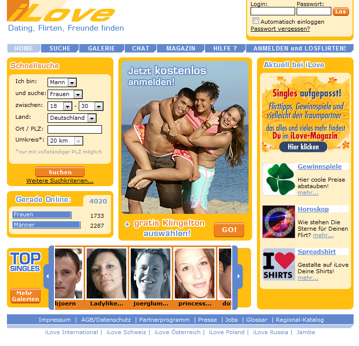 Über 50 dating-website-bewertungen